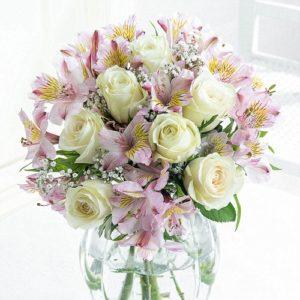 Sympathy Flowers Champagne Sorbet